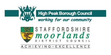High Peak Borough Council & Staffordshire Moorlands District Council logo