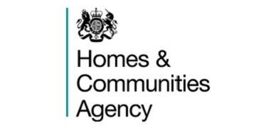 Homes and Communities Agency logo