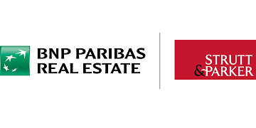 Strutt & Parker and BNP Paribas Real Estate logo